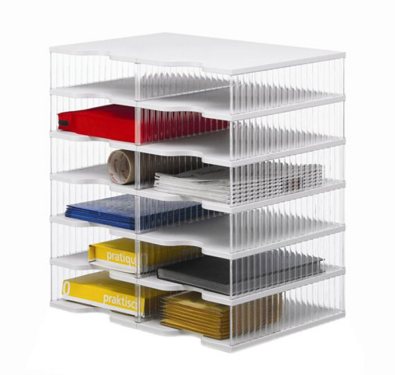 ablagesysteme styropost duo tower 12 f cher ablagebox. Black Bedroom Furniture Sets. Home Design Ideas