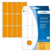 HERMA 2414 Vielzwecketiketten orange 20x50 mm Papier matt...