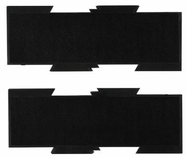 Erweiterungsplatten-Set für HANSA Schwenkarm, schwarz