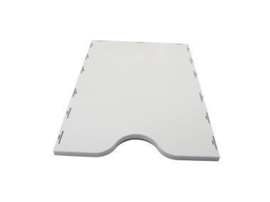 Bodendeckel grau für styropost Sortiersysteme