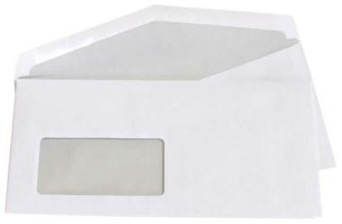 77.000 Kuvertierhüllen - ASK C6/5 - 114x229 mm Kuvert - mit Fenster