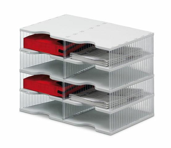 Ablagesysteme Styropost Duo Tower 12 Facher Ablagebox Ablagefach