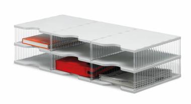 Ablagesysteme styrobig styropost Trio Tower 6 Fächer Ablagebox Ablagefach