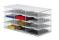 Ablagesysteme styrobig styropost Trio Tower 12 Fächer Ablagebox Ablagefach