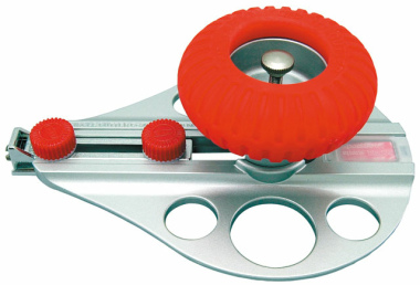 Kreisschneider C 3000 GP Messer Cutter Zirkelmesser Zirkel silber-rot, ø von 3 bis 26 cm