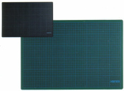 Schneidunterlage 30x22 cm grün schwarz Schneidematte...