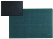 Schneidunterlage 90x60 cm grün schwarz Schneidematte...