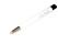 Radier Schleif Stift mit vernickelter Metallspitze Glaspinsel 4 x 60 mm