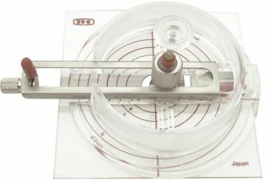 Kreisschneider iC 1500 P, Farbe transparent, ø von 1,8 bis 17 cm