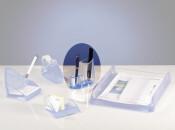 Stifteköcher Acryl Line transparent
