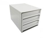 Ablagebox styro Typ 16003 individuell 3 Fächer 61 mm...