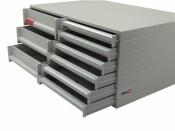 Ablagebox styro Typ 16003/16000, grau grau