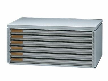 Ablagebox styro Typ 16006, A3 grau grau