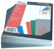 Rückenblätter 100 Stück Chromo DIN A4 schwarz Stärke 250 g/qm