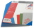 Rückenblätter 100 Stück Chromo DIN A4 blau Stärke 250 g/qm