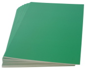 Rückenblätter 100 Stück Chromo DIN A4 grün Stärke 250 g/qm