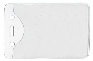 Ausweistaschen RECOsystems Einstecktaschen ca. 69 x106 mm transparent - 100 Stück