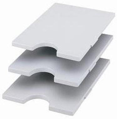styrorac Tablare waagrecht grau
