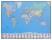 Schreibunterlage 650 x 500 mm GeoPad Welt deutsch homeoffice