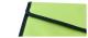 Konferenzmappe apfelgrün schwarz Mappen Aktenmappen Angebotsmappen