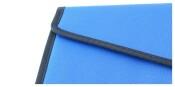 Konferenzmappe royalblau schwarz Schreibmappe Mappe Aktenmappe