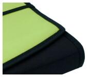 Fächermappe apfelgrün schwarz Schreibmappe Präsentationsmappe Mappen
