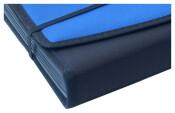 Fächermappe royalblau schwarz Angebotsmappen Schreibmappen Aktenmappe