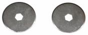 Cuttermesser Klingen BR 28 P für NT Rollenschneider RO 1 P - 2 Stück