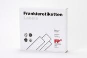 XL Frankierstreifen 1.000 Stück für PostBase Streifengeber, 60x219 mm, weiss