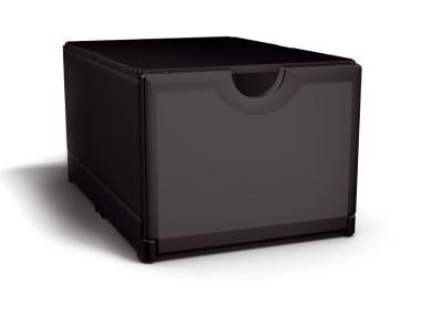 Plusbox schwarz-schwarz