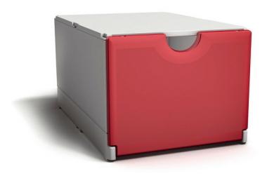 Plusbox weiß-rot