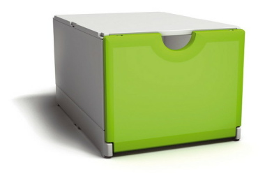 Plusbox weiß-grün