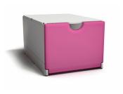 Plus-Box weiß- magenta