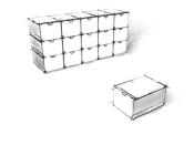 Plusbox weiß-schwarz