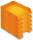 Briefablage homeoffice  styrofile C4 orange Ablagebox 5 Stück