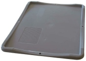 Deckel für Eurobox grau 60x40x2,8cm
