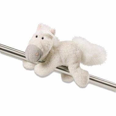 Pferd weiß 12 cm