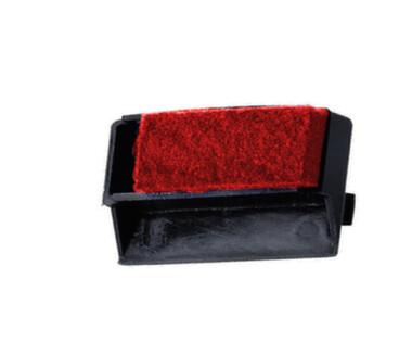 Farbkissen rot für Reiner Stempel Ta, Ta-S ( 10098 )