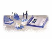 Schreibtischsets sehr hochwertig Acryl - 3 komplette Sets