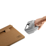 Kennzeichnungsstempel MHD Reiner jetStamp 970 mit Tinte P3-S-BK mit Koffer