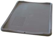 Deckel für Euroboxen 3 Stück grau 60x40x2,8cm