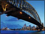 Schreibunterlage 650 x 500 mm Sydney Harbour...
