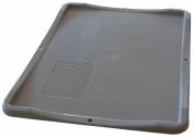 Deckel für Euroboxen 3 Stück grau ca. 40x30x2,8cm
