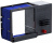 Farbbandkassetten für Reiner Stempel ChronoDater 920 blau 2er Pack