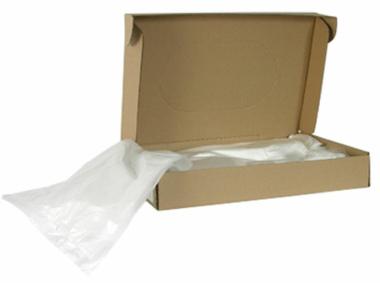 Plastiksäcke 99954 Auffangbeutel 50 Stück für Shredder TAROS 50.55 mit Kartonagenauffangbehälter