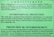 Plastiksäcke 99952 Auffangbeutel 50 Stück für Shredder intimus 424