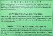Plastiksäcke 99952 Auffangbeutel 50 Stück für Shredder intimus 452