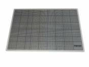 Schneidunterlage 45x30 cm transparent Schneidematte bigraph - Sonderposten