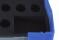 Aufbewahrungsbox 255x195x69 gepolsterte Fächerbox Kleinteilebox Sortierbox