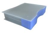 Aufbewahrungsboxen 10 Stk. Fächerbox 255x195 x69 Kleinteilebox Sortimentskasten